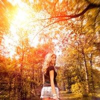 Босиком по лесу :: Ирина Скобелева