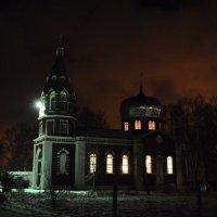 Храм Космы и Демиана, в Усадах :: Олег Петушков