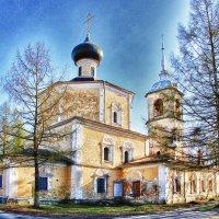 Церковь Иоанна Предтечи (1710г.) :: Марина Назарова