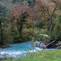 голубая река :: Galina
