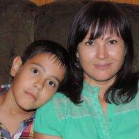 Я с сыном :: Вера Захарова
