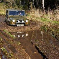 Наша машина застрянет там,куда другие просто не доедут... :: Евгений Жиляев