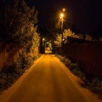 Ночь в поселке :: Георгий Старостин
