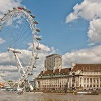 Колесо обозрения London Eye :: Ростислав Бычков