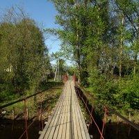 мост через реку :: Сергей Кочнев