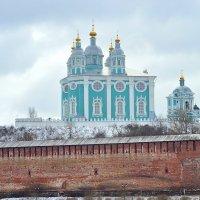 Успенский собор в марте :: Александр Войтович