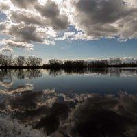 речное зеркало... :: Сергей