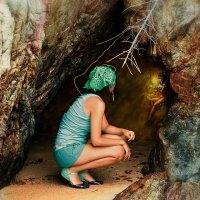 Пещерная феечка :: Alex Lipchansky
