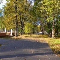 В кремлевском парке осенью (этюд 5) :: Константин Жирнов