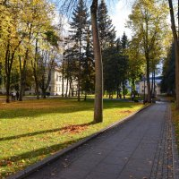 Осень в Новгородском Кремле (этюд 4) :: Константин Жирнов