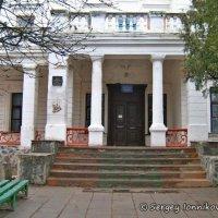 Андрушевка. Школа №1 в усадьбе Терещенко. Март 2008 :: Сергей Ионников
