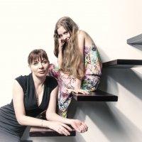 в студии мама и дочь :: Станислав Пересыпкин