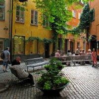 Стокгольм. Уютный дворик :: максим лыков