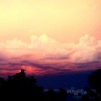 небо перед грозой :: Алина Адаменко