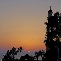 Закат в старом городе Яфо Тель-Авив :: Владимир Сарычев