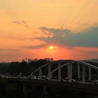 Вид с Живописного Моста :: Евгений (bugay) Суетинов