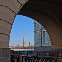 Вид на Петропавловку с Зимней канавки. :: Сергей Григорьев