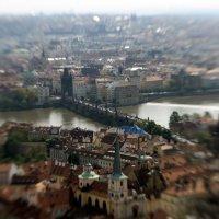 Вид на Прагу и Карлов мост :: Andrey Kuzin