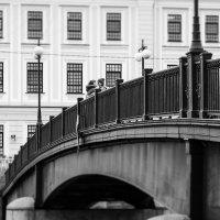 На Фонтанке. Английский пешеходный мост. :: Юрий