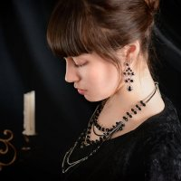 Girl in black :: Анна Денисова