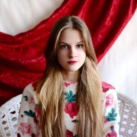 Floral model :: Анна Денисова
