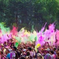 Фестиваль красок. Открытие :: Анастасия Che