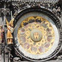 Часы на староместской площади в праге :: Александра Старых