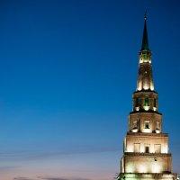 Ночные виды Казани. Башня Сююмбике :: Valeria Mironova