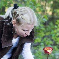 роза в подарок :: Ульяна Березина