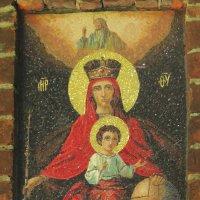 Мозаичная икона на внутренней стороне Святых врат. :: Александр Качалин