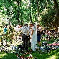 Велосипедная ретро свадьба :: Дарья Карпова