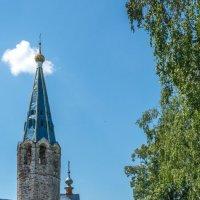 Храм в селе Дунилово Шуйского района :: Валерий Смирнов