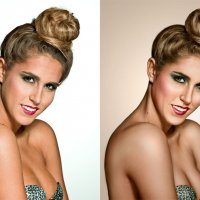 милая улыбка (до и после) :: Veronika G