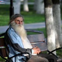 СЕДИНА в бороду...(2 цв) :: Валерий Викторович РОГАНОВ-АРЫССКИЙ