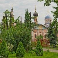 В Донском монастыре. :: Виктор Евстратов