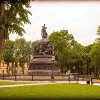 Великий Новгород. Памятник Тысячелетия России. :: Евгений Никифоров