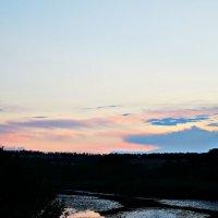 Исчезновение светила под горизонтом. :: Lena Girey