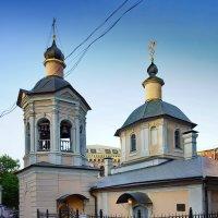 храм Сергия Раднежского в Крапивниках :: Александр Шурпаков
