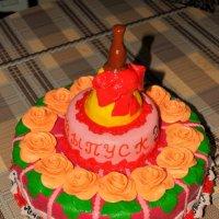 Торт на выпускной :: Анна Пацакула