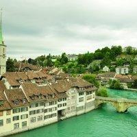 Река Ааре. Берн, Швейцария :: Hanna Rzh