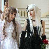 Gothic Loli and Sweet Loli :: Emily Rose
