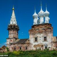 Реставрация храма в селе Дунилово Шуйского района Ивановской области :: Валерий Смирнов