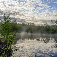 Утро на озере ! :: Евгений Ананевский