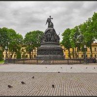 Памятник Тысячелетия России. В. Новгород. :: Евгений Никифоров
