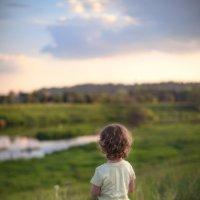 Дочка папу ждет... :: Anna Lipatova