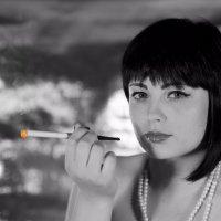 Дым, сигарет .... :: Виктор Твердун