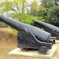 Пушки на Малаховом кургане :: Zinaida Belaniuk