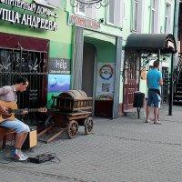 Уличный гитарист :: Валерий Викторович РОГАНОВ-АРЫССКИЙ