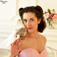 Нежная голубка :: Julia Miloserdova