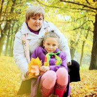 Ольга и Снежа :: Ольга Курепина